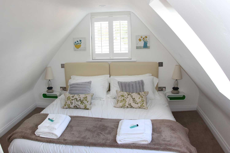 Angel Lane renovated bedroom