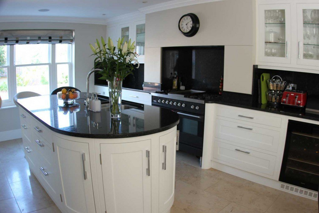 Chapel House kitchen island