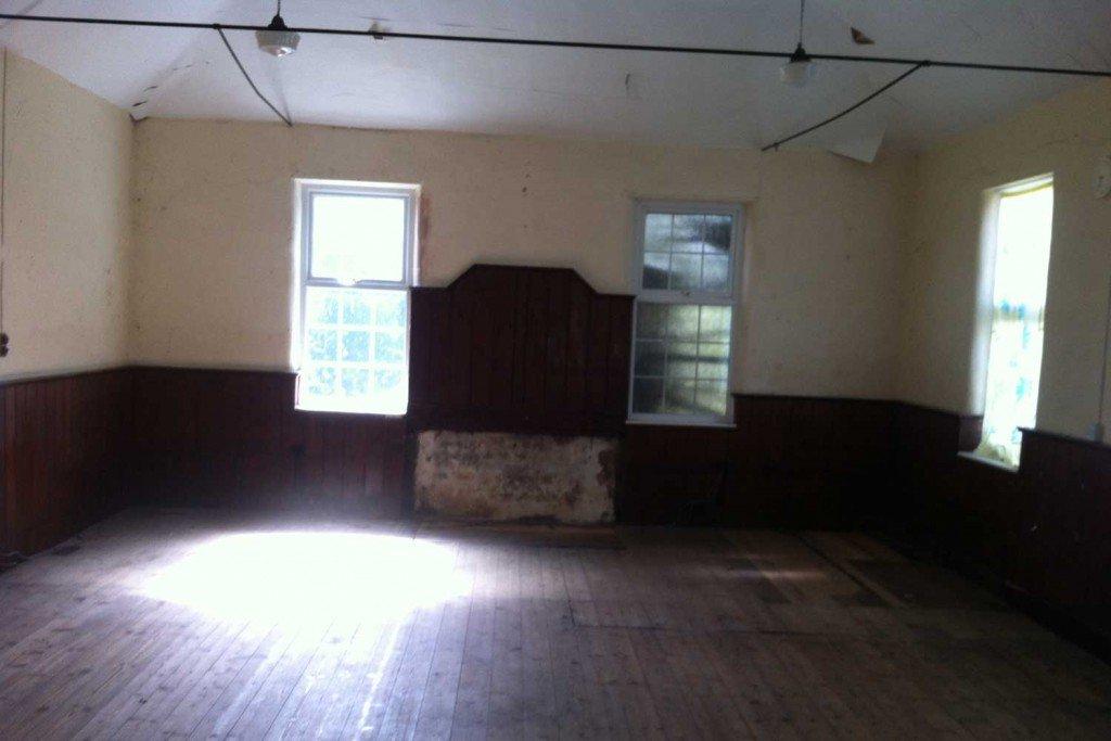 Ebenezer Chapel inside before renovation