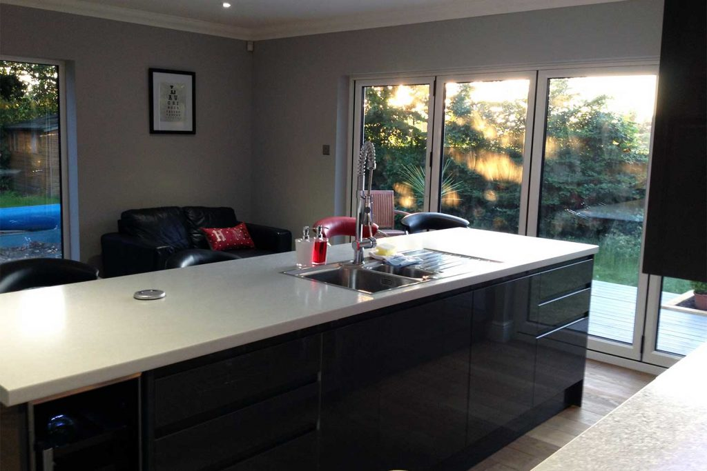 Clarence House new kitchen island