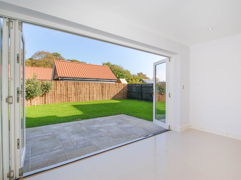 Tewksbury House bi-folding doors