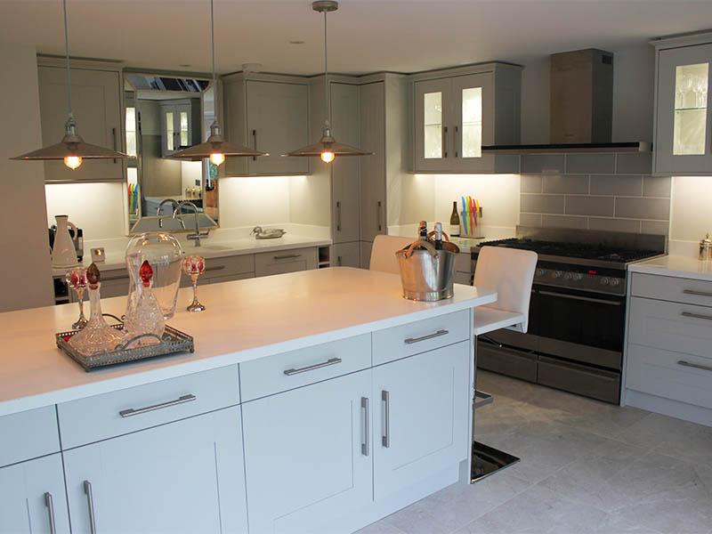 Aldeburgh house new kitchen island