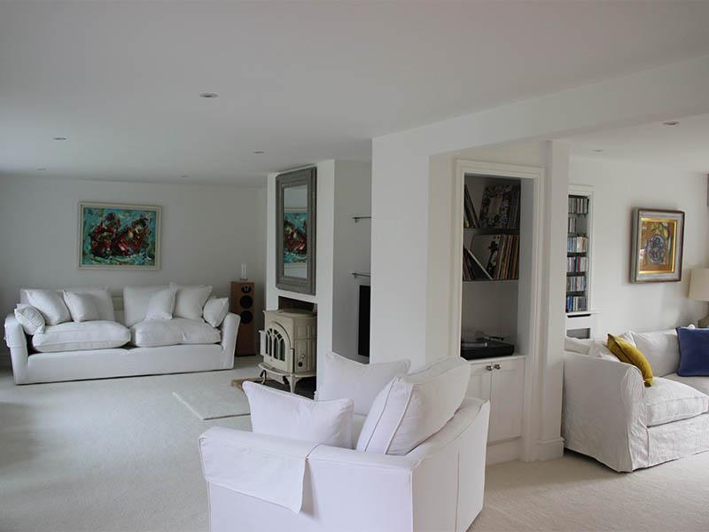 Aldeburgh house renovation living room