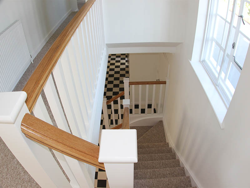 Aldeburgh house renovation stairs