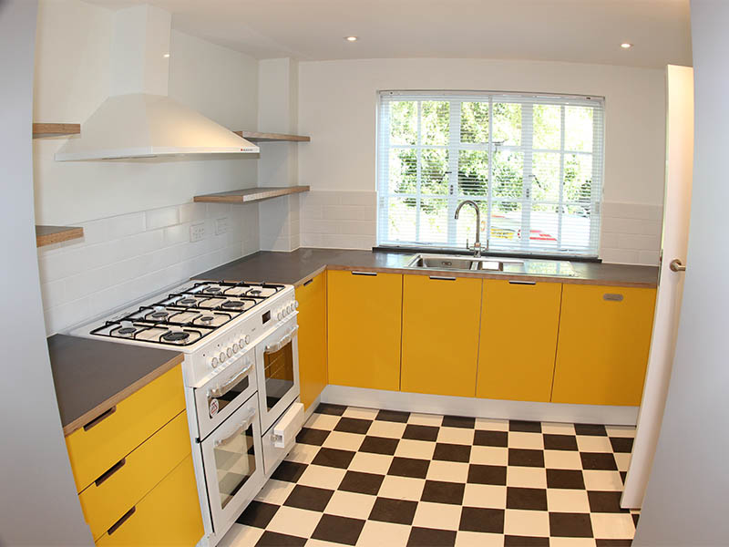 Aldeburgh house renovation kitchen