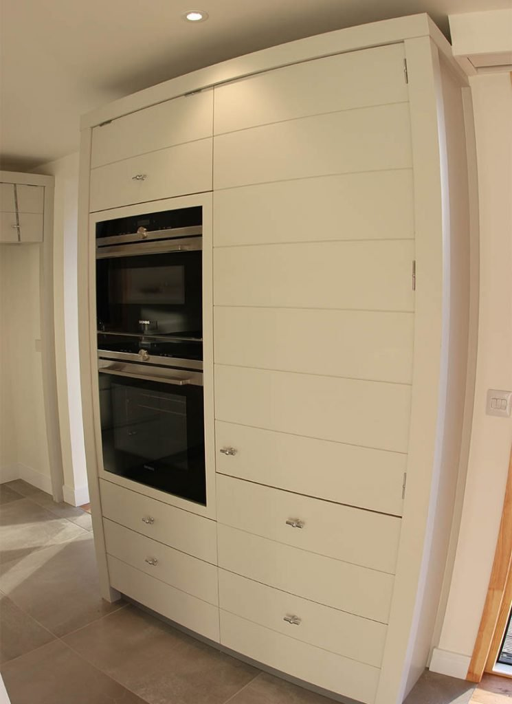 Woodbridge bespoke new build oven housing