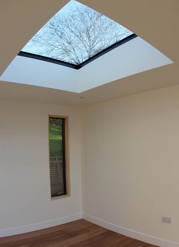 Woodbridge bespoke new build skylight