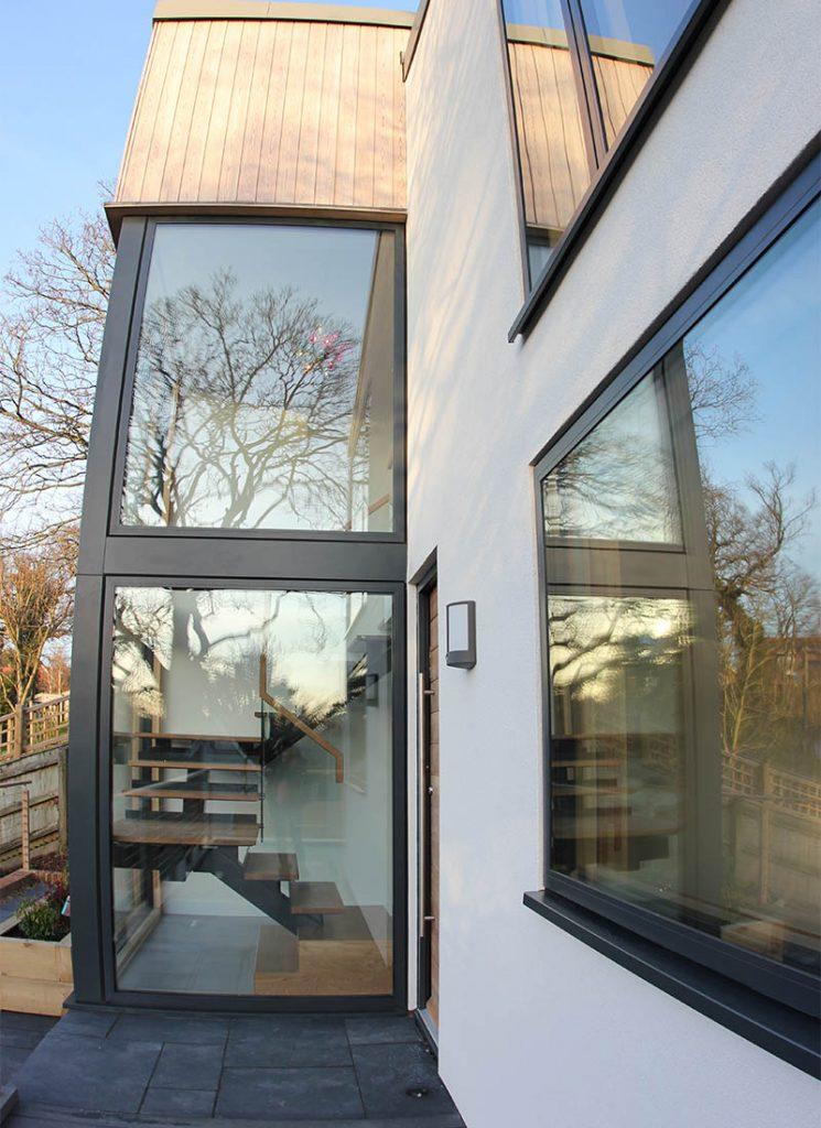 Woodbridge bespoke new build windows