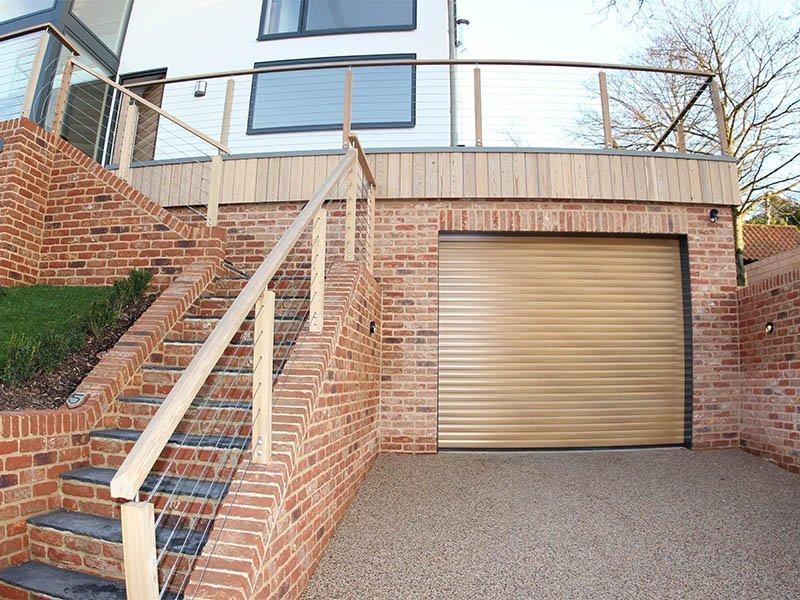 Woodbridge bespoke new build garage