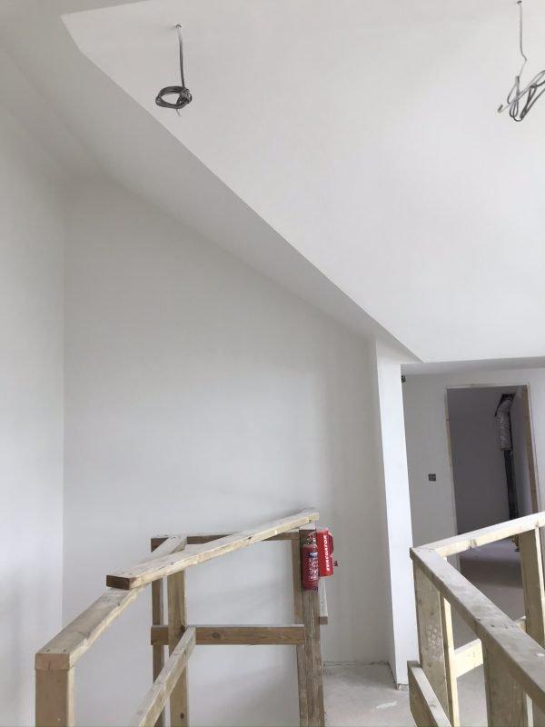 Freshing painted walls